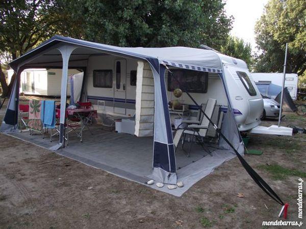 caravane eriba nova 465 grand luxe neuve caravane occasion caravane occasion. Black Bedroom Furniture Sets. Home Design Ideas
