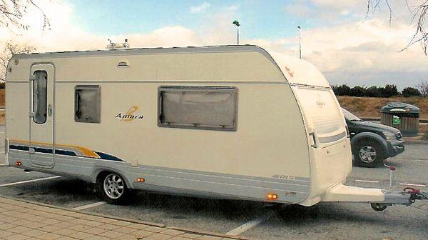 caravane b rstner amara 470 ts occasion caravane occasion. Black Bedroom Furniture Sets. Home Design Ideas