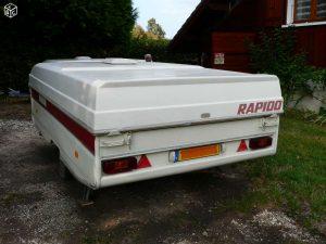 caravane pliante rigide rapido orline occasion caravane occasion. Black Bedroom Furniture Sets. Home Design Ideas