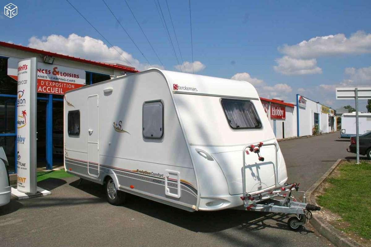 Caravane occasion Sterckeman Evolution Confort 470 CP