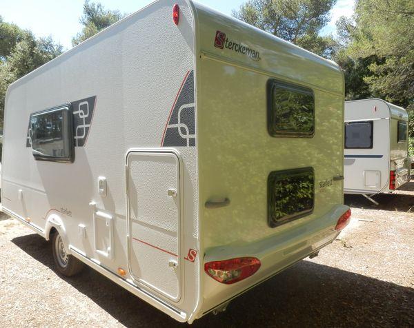 caravane pliante rigide esterel supermatic occasion. Black Bedroom Furniture Sets. Home Design Ideas
