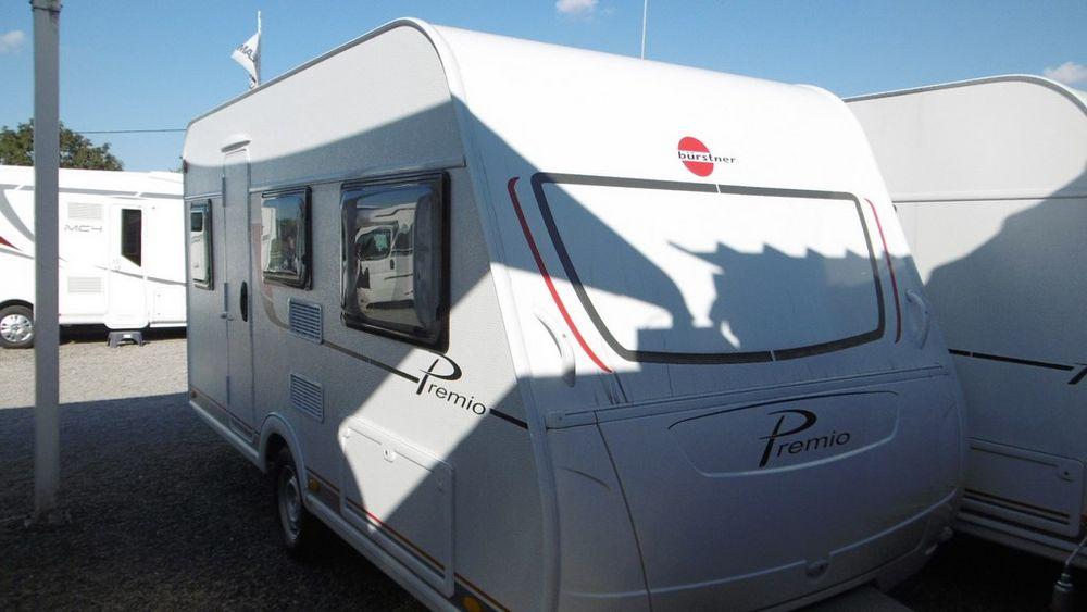 Caravane Bürstner Premio 435 TS d'occasion