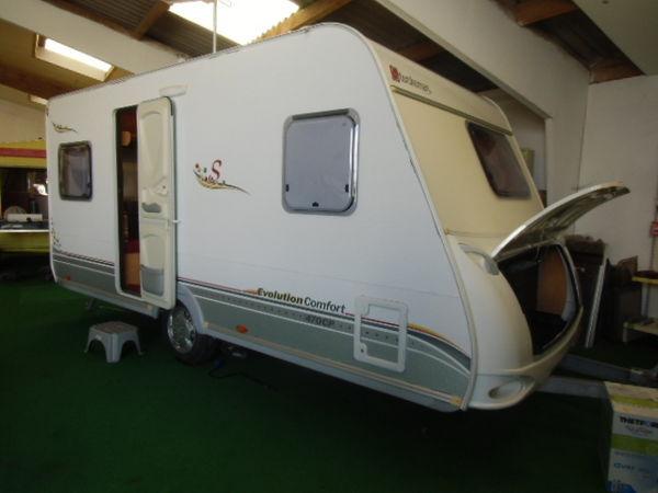 Caravane Sterckeman Evolution comfort 470 CP occasion