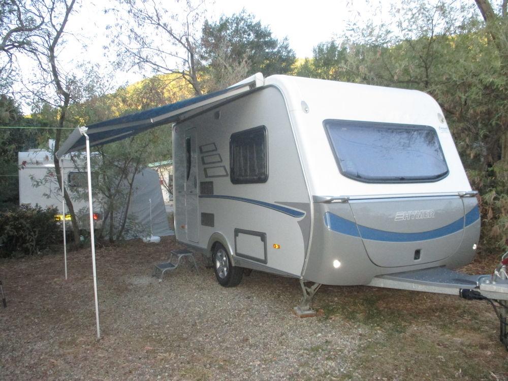 Caravane Hymer Nova 390 GL avec auvent occasion