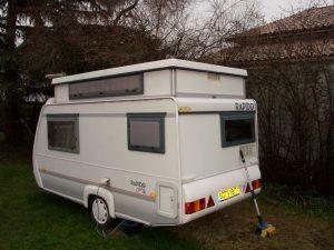 caravane occasion surbaiss e rapido 31t avec auvent caravane occasion. Black Bedroom Furniture Sets. Home Design Ideas