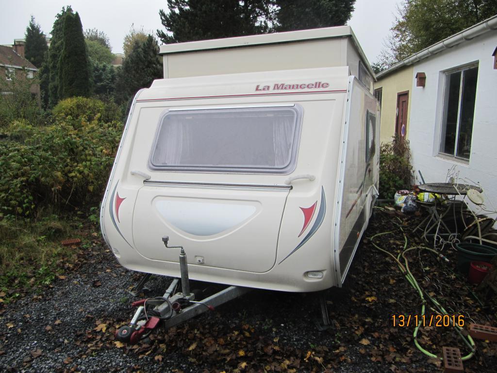 Caravane occasion La Mancelle LM 420