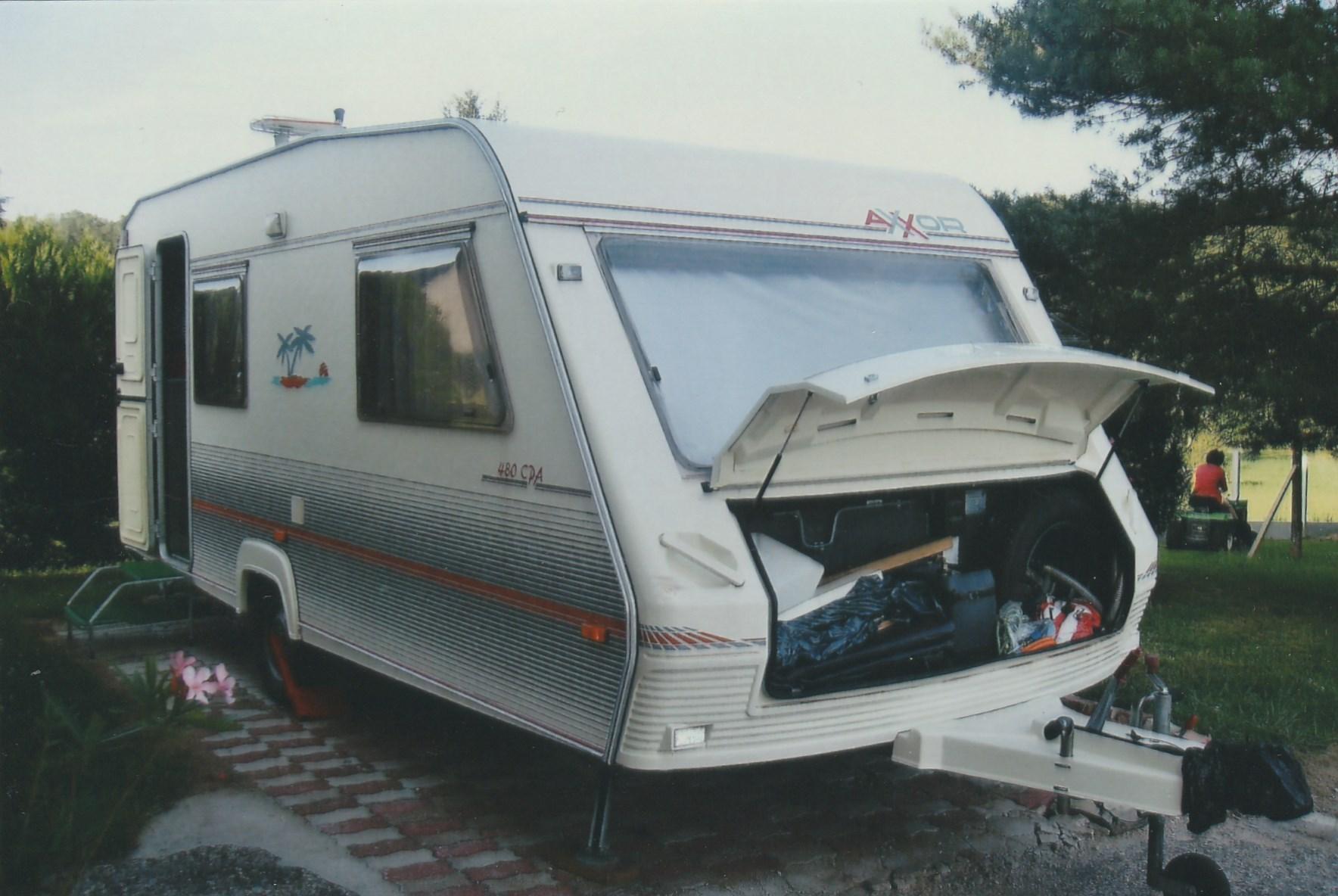 Caravane occasion Axxor 460 Moréa