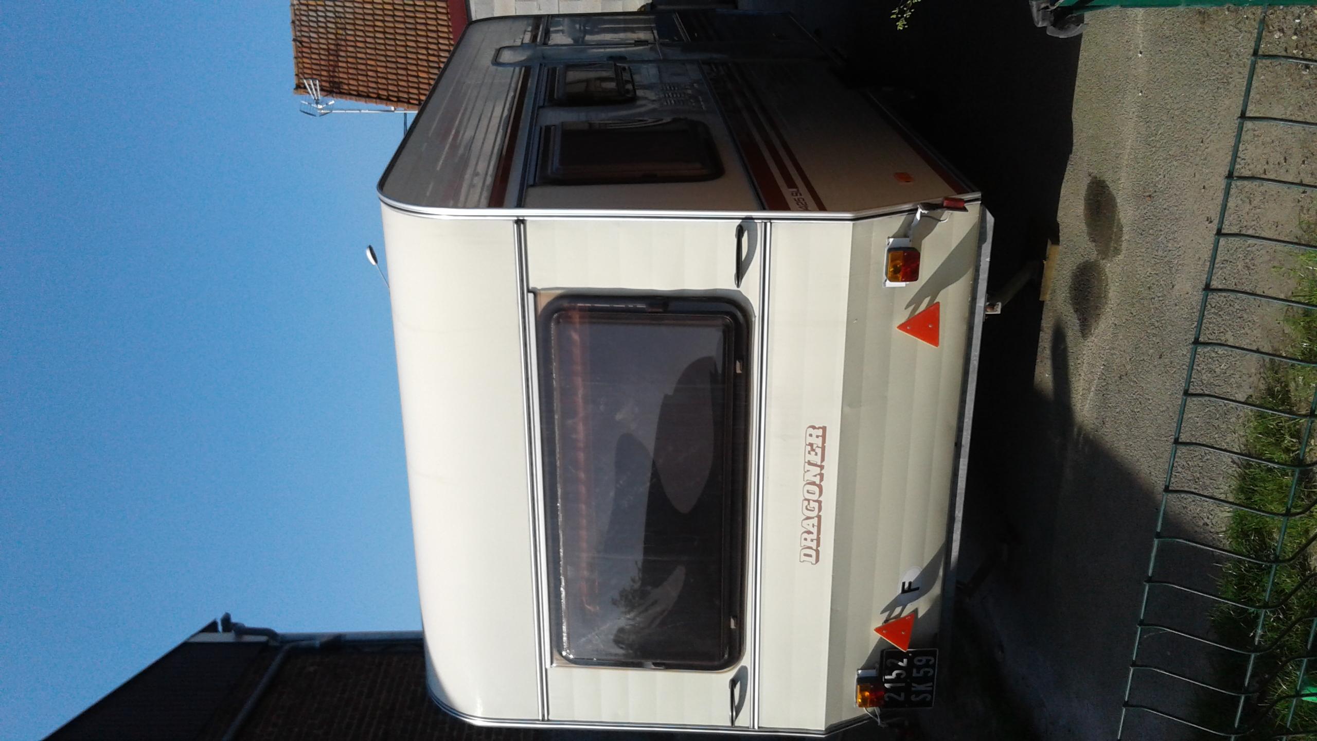 Caravane occasion Dragoner 425sl