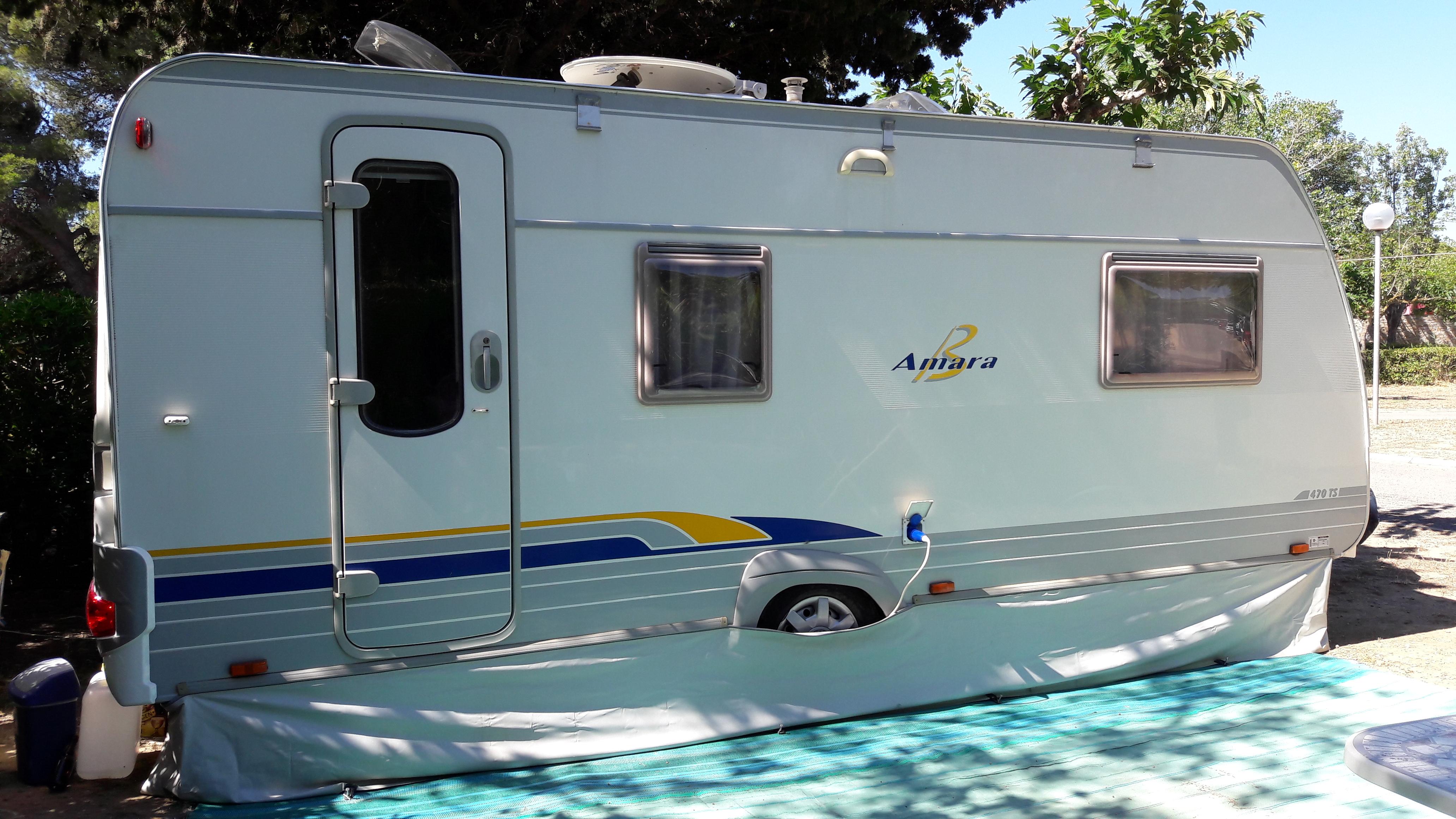 Caravane occasion Burtsner Amara 470TS