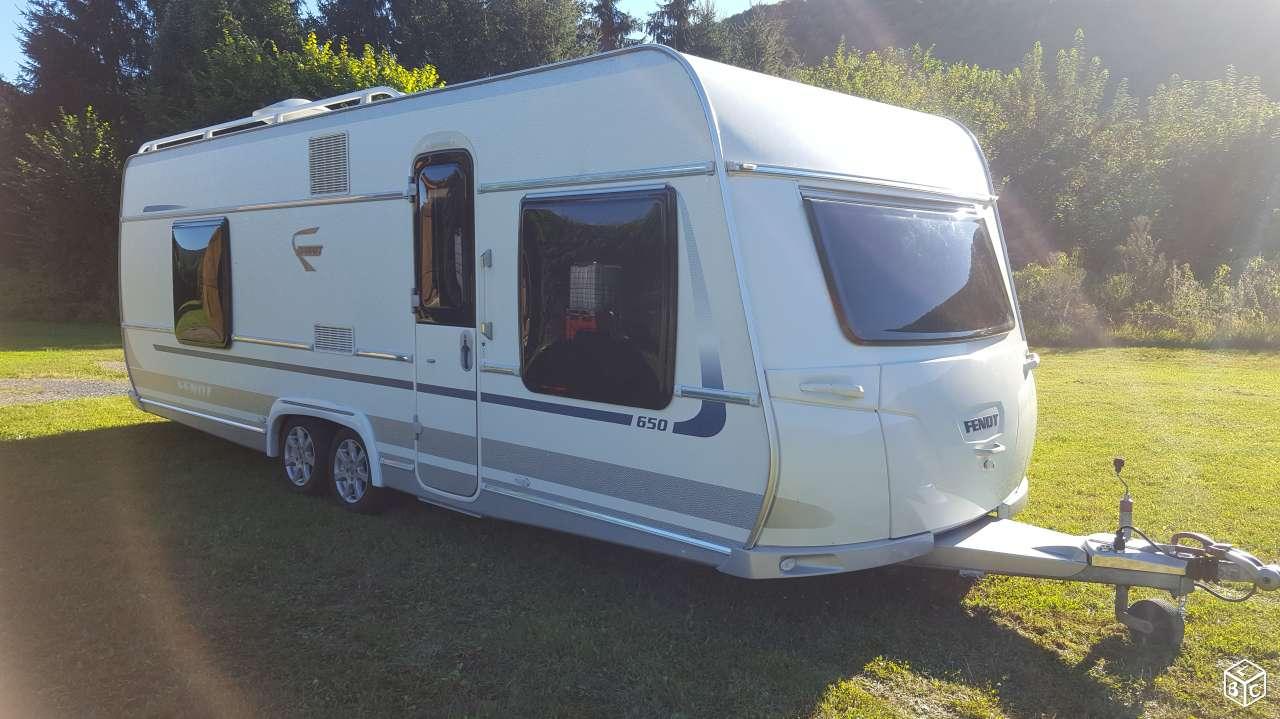 Caravane FENDT DIAMANT 650 occasion