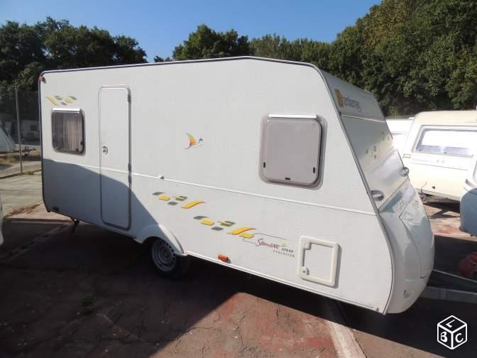 Caravane STERCKEMAN Starlett 470CP occasion avec Auvent