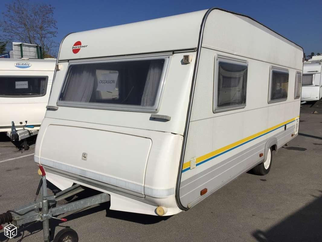 Caravane Bürstner Amara Luxus 4722TS occasion