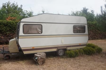 Caravane vintage Hymer Taiga occasion