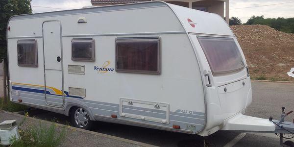 Caravane Burstner Ventana 435 TS occasion
