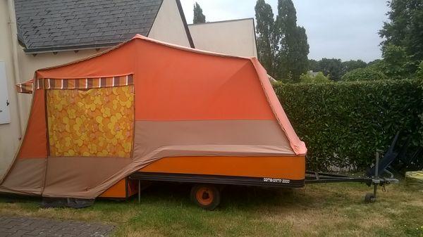 Caravane pliante en toile CombiCamp occasion
