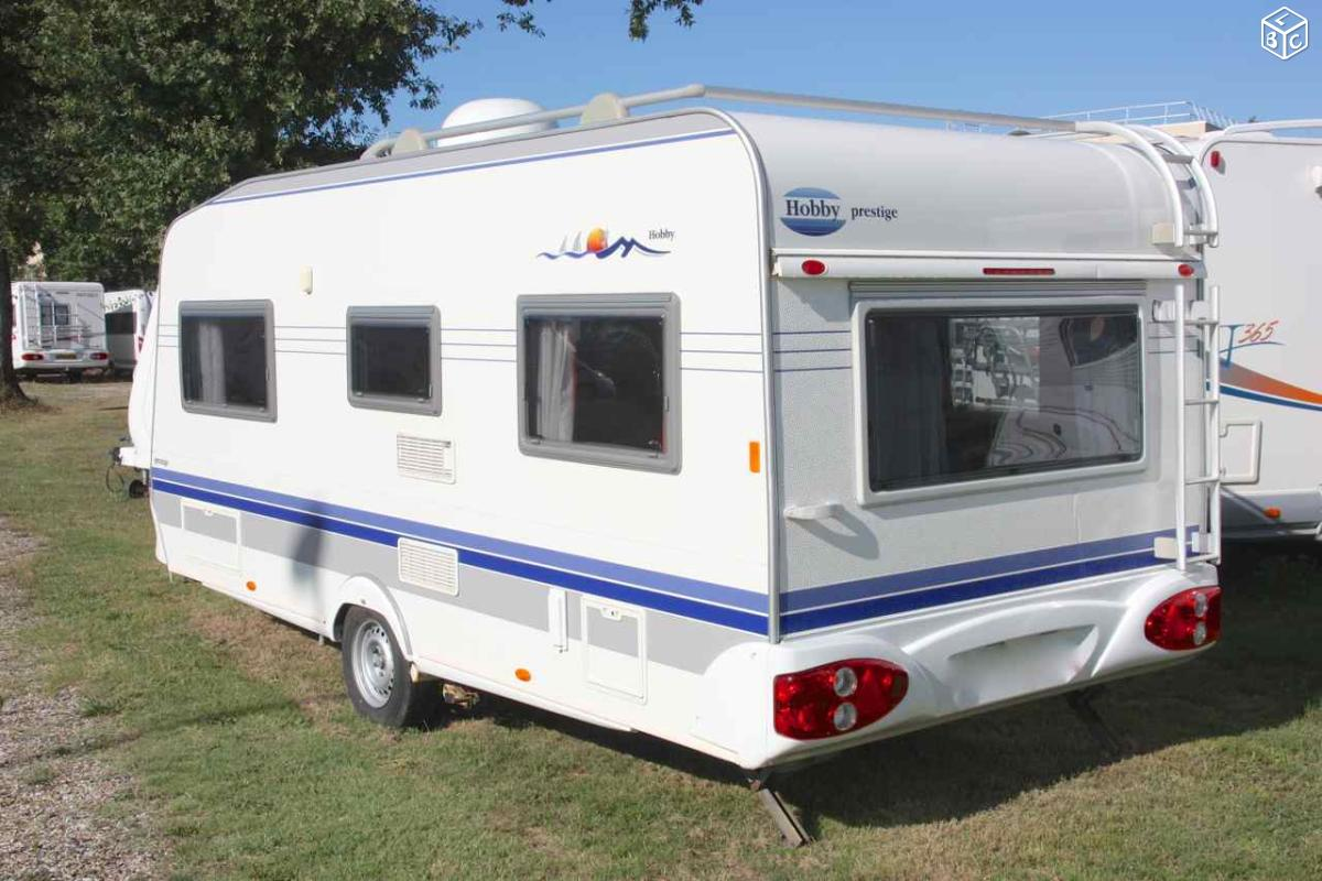 Caravane HOBBY 495 UFe PRESTIGE neuve