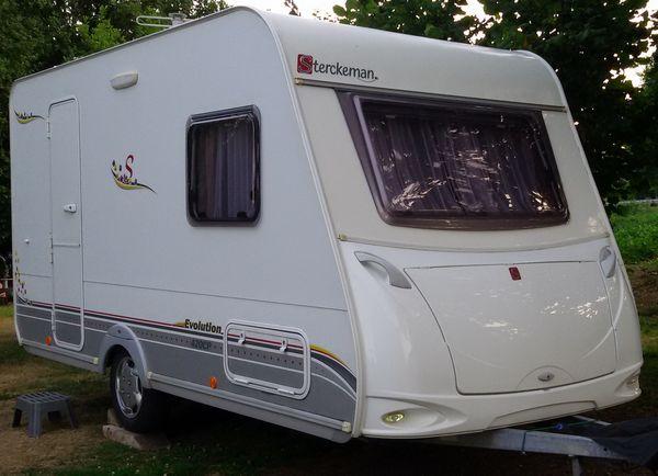 Caravane STERCKEMAN 420 CP EVOLUTION occasion