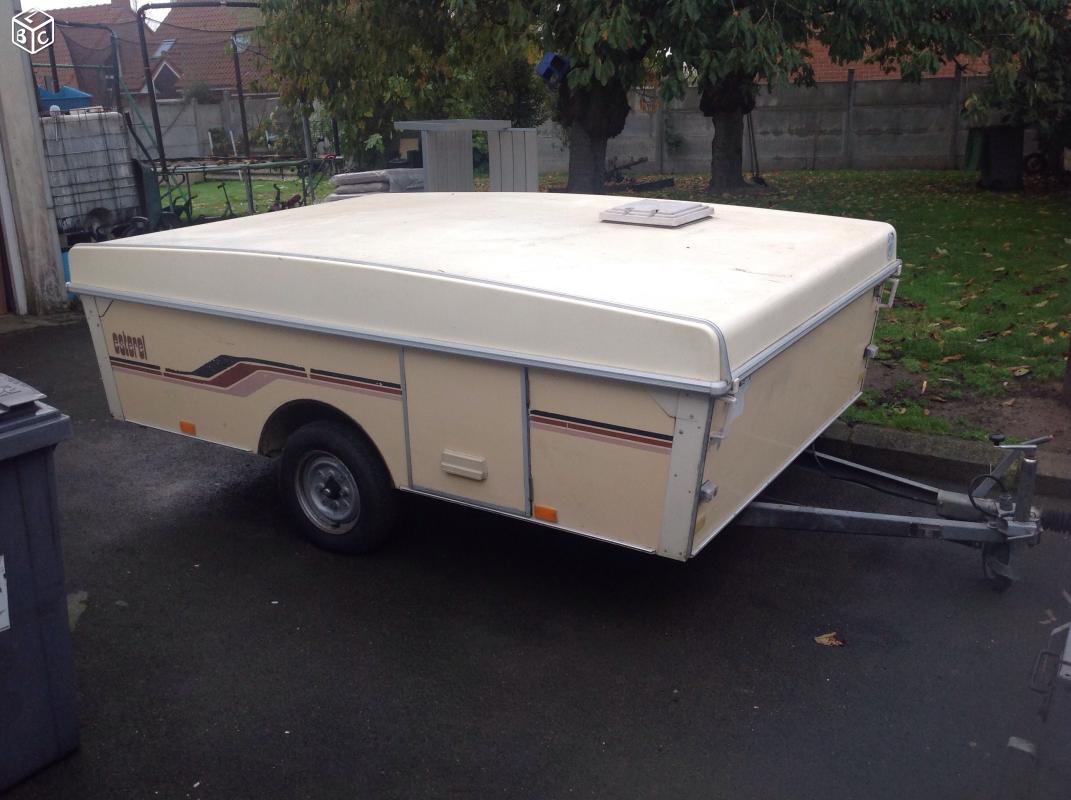 Caravane pliante rigide Esterel