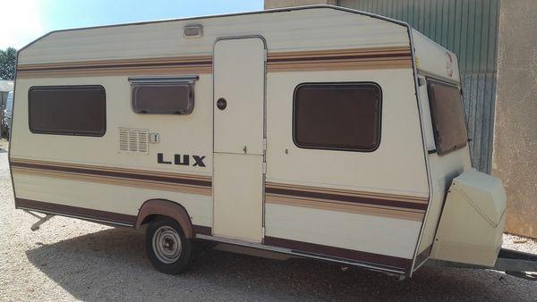 Caravane occasion vintage Bürstner Lux de 1981