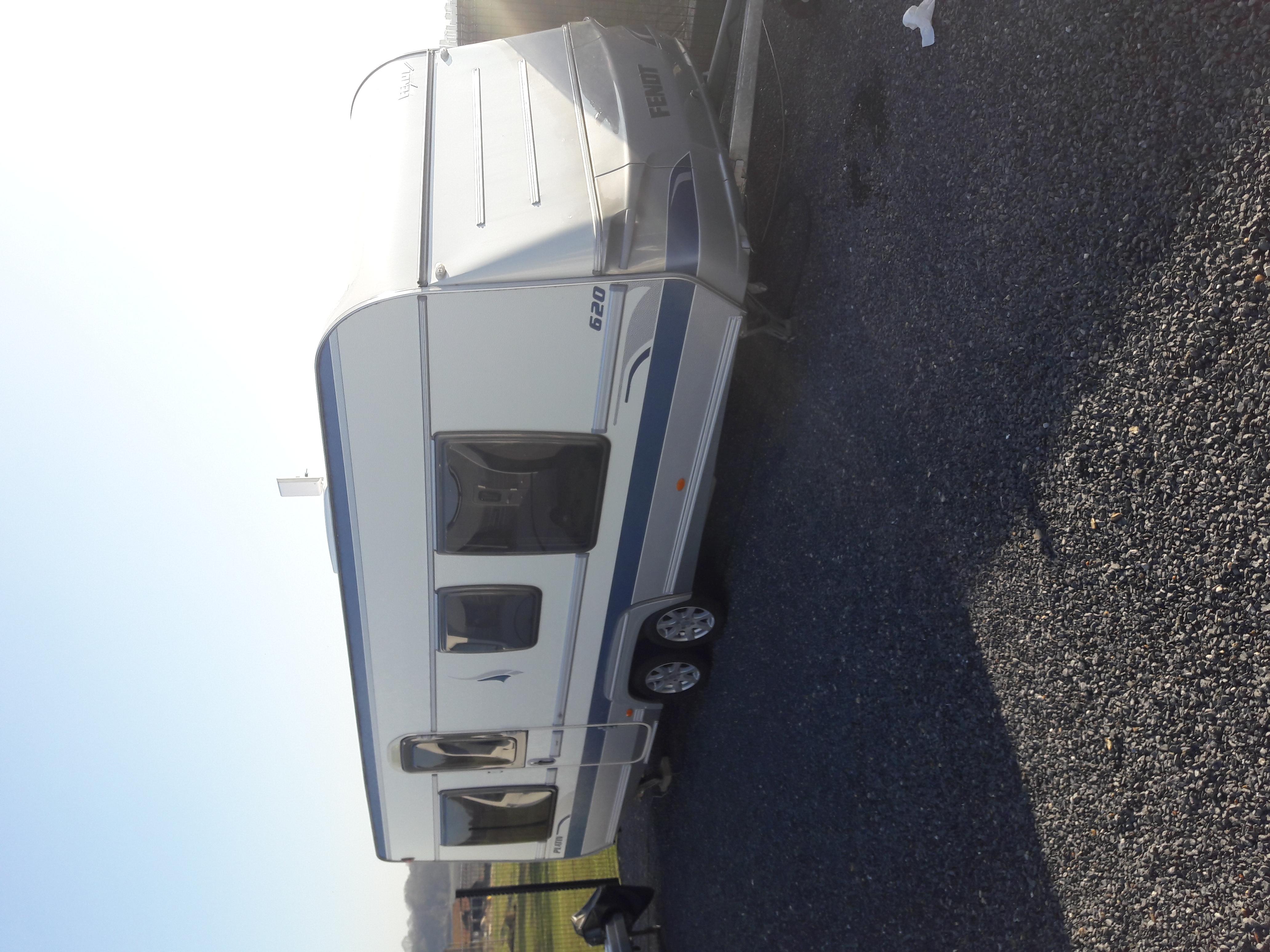 Caravane occasion Fendt Platin 620
