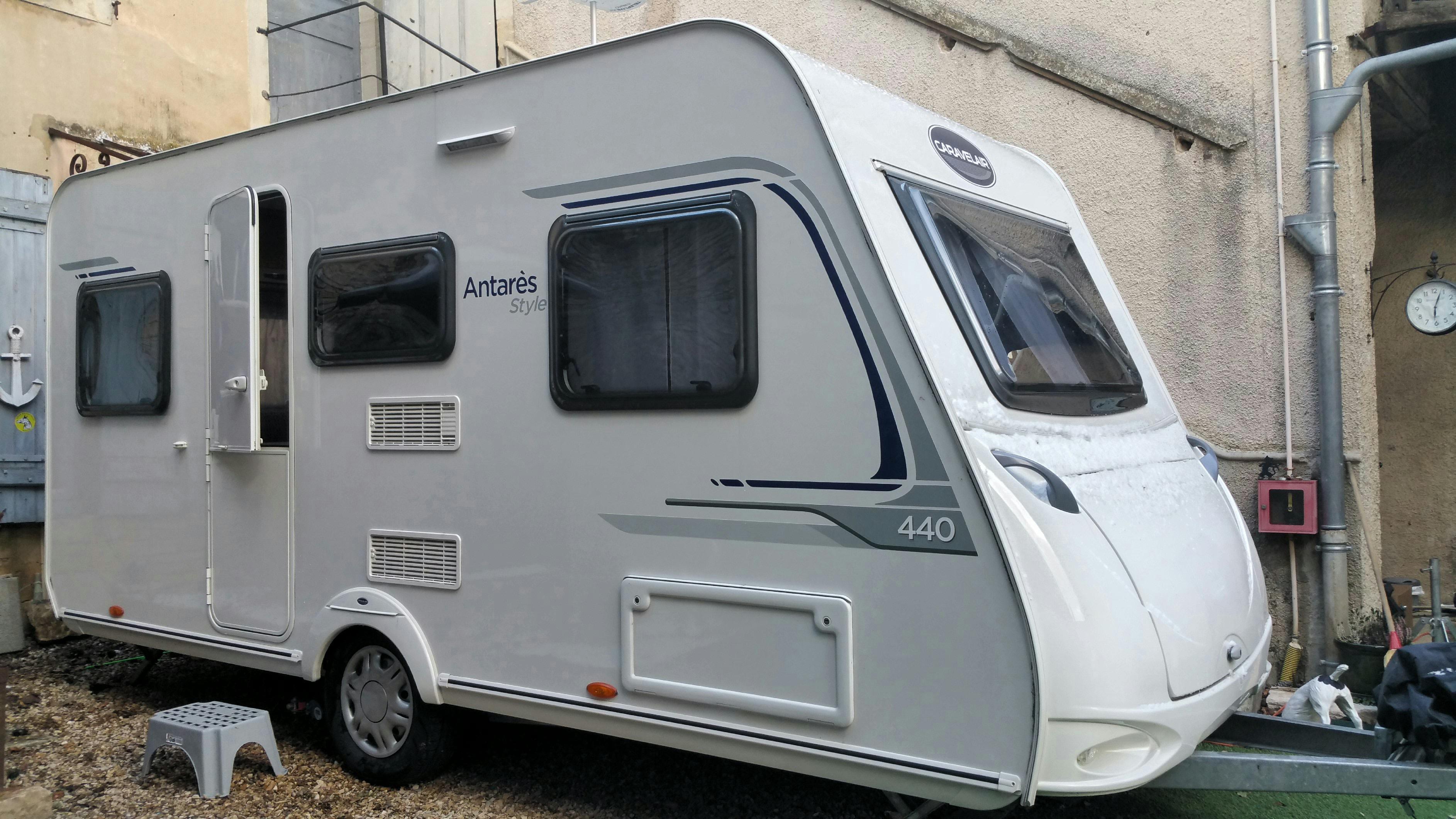 Caravane occasion Caravelair Antares style 440
