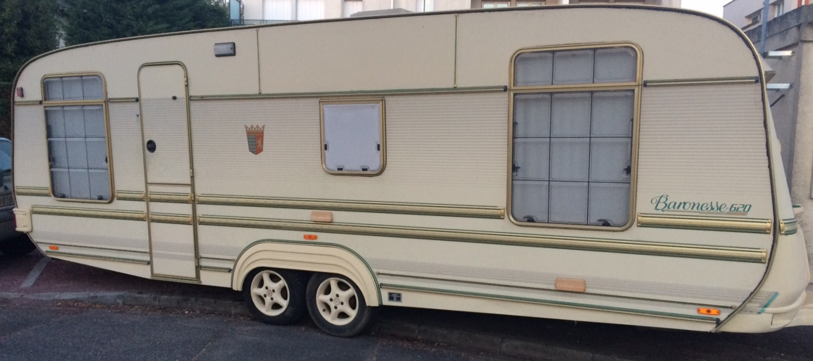 Caravane occasion Tabbert Baronesse 620