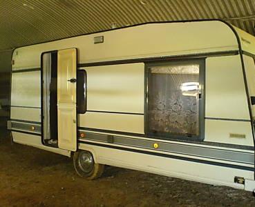 Caravane Bürstner LUX