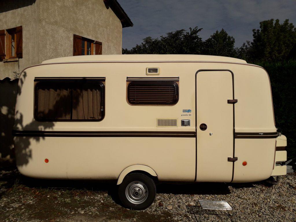 Caravane rigide LANDER Graziella 401 - Caravane occasion
